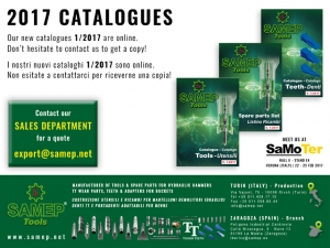 NEW 2017 CATALOGUES