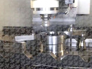 THRUST RING - CNC machining process